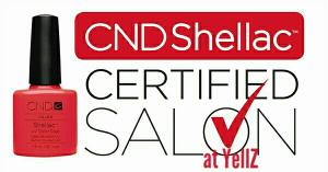 CND Shellac Gecertificeerd Salon