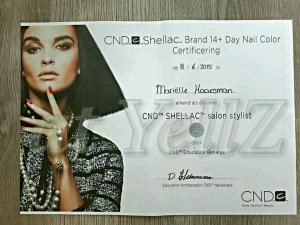 Cnd Shellac - SALON STYLIST