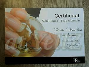 Manicurette  & Zijde Reparatie